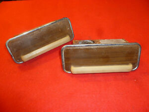 1948 50 Packard Coupe convertible Rear Seat Ashtrays