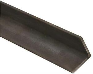 Steel Angle Iron 1 8 X 2 X 6 Ft Hot Rolled Carbon Steel 90 Stock Mill