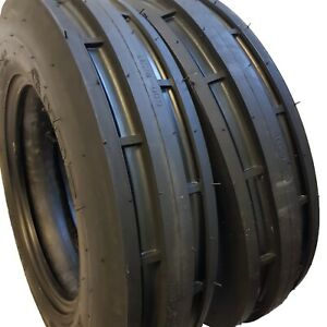 6 00 16 2 Tires Tubes 8 Ply Road Warrior st1 F2 3 rib Farm Tractor 6 00x16