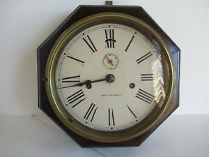 Seth Thomas 8 Day Lever Wall Clock