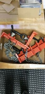 Ridgid 461 And 462 Pipe Welding Fixtures Vgc Up To 12 Pipe Right Angle 8 St