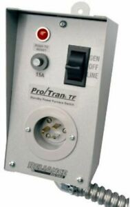 Reliance Controls Tf151w Single Circuit Transfer Switch 15 Amp