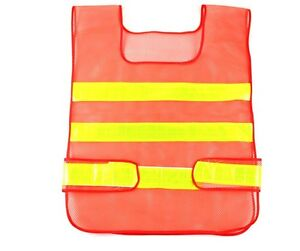5 Pk Safety Security Visibility Reflective Vest Construction Traffic warehouse