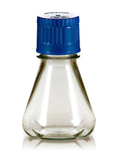 Triforest Fbc0125s Erlenmeyer Flask With Baffled Base 125ml 71 Length X 105