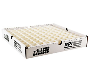 Rpi Scintillation Vial Tray With 100 Capacity Partition For 20ml Vials 10 Per