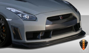 Duraflex Eros Version 4 Front Bumper Cover For 2009 2016 Nissan Gt R R35