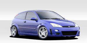 Duraflex F Sport Body Kit For 2000 2004 Ford Focus Hb Zx3 Zx5