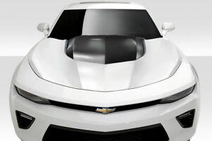 Duraflex Zl1 Look Hood For 2016 2018 Chevrolet Camaro