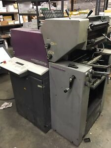 Heidelberg Qm 46 2 Quick Master Offset Press Print Master Ryobi Ab Dick
