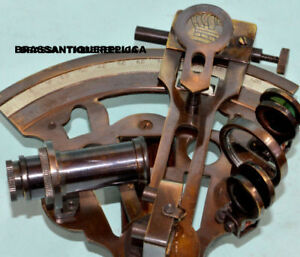 German Sextant Antique Sextant Vintage Sextant Antique Reproduction Brass