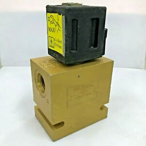 Vickers Hydraulic Cartridge Valve Sv1 10 With Coil 12v Dc 02 178070