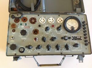 Hickok Tv 7 u Vintage Military Electron Tube Tester