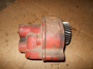 Farmall International Tractor Engine Oil Pump D358 German 826 Part 3136434r91