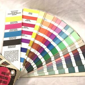 Pantone Matching System Formula Guide Fan Style Frajon Ink Of Los Angeles