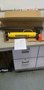 Enerpac P 39 New But Old Stock Hydraulic Hand Pump 10 000 Psi 1 Speed