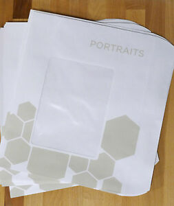 50 Photo Window Envelopes 9x12 5 Sports Or Portrait Photo Packaging