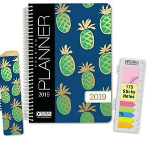 Blue Sky July 2017 To June 2018 Tabbed Academic Year Weekly Monthly Planner