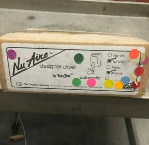 Nuaire Designer Hand Dryer Almond