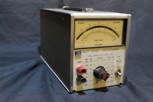 Hewlett Packard 400fl Ac Voltmeter Vintage Repair Equipment