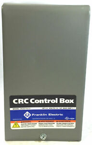Franklin Electric 1lzx4 Crc Control Box 3 4 Hp 230v 1 phase