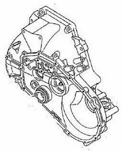 Gm Transmission Housing Part Number 97133348 Gm Vehicles 5 Speed Manual Trans