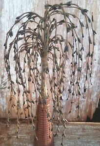 14 Willow Tree Black Pip Berry Farm House Primitive Floral Country Decor