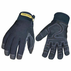 Waterproof All Purpose Gloves Waterproof Winter Plus Black 2xl 1 Pair Lot