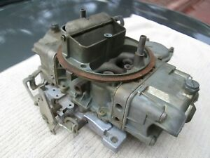1968 Shelby Mustang 289 Factory Holley Carb 4118 s