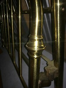 Antique Brass Bed Full Size