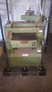 20 Chang Iron Works Wood Planer Cm510g