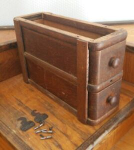 Singer Treadle Sewing Machine Cabinet Drawers And Frame Vintage Antique