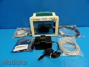 Welch Allyn Propaq Cs 242 Patient Care Monitor W New Leads New Battery 17367