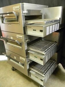 Lincoln Impinger Conveyor Triple Stack Pizza Gas Oven 1116 we Offer Financing