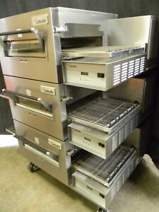 Lincoln Impinger Conveyor Triple Stack Pizza Gas Oven 1116 we Offer Fin