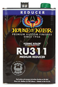 House Of Kolor Ru311 Medium Urethane Reducer Gallon