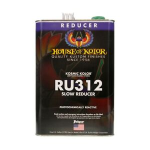 House Of Kolor Ru312 Slow Urethane Reducer Gallon