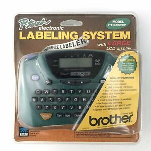 Brother P Touch Electronic Labeling System Large Lcd Display Maker Pt 65sccp
