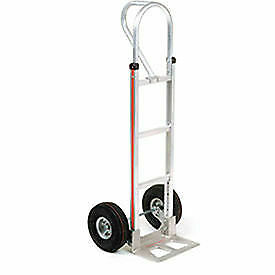 Magliner Aluminum Hand Truck With Loop Handle Pneumatic Wheels Lot Of 1
