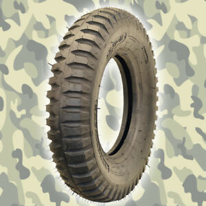 2 New Military Jeep Tire Gpw Willys 600x16 6 Ply M416 M101 M762 M100 Army
