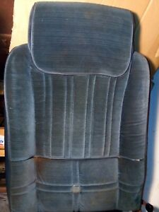 79 88 Cutlass 442 Reclining Bucket Seat Back 79 80 81 82 83 87 86 85 Frame Foam