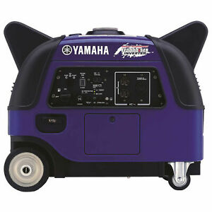 Yamaha Portable Inverter Generator 3000 Watt 500w Boost Technology Lot Of 1
