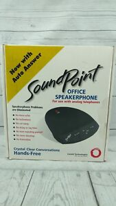 Polycom Lucent Soundpoint Analog Office Speakerphone With Power Supply