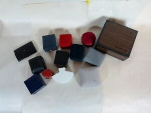 Lot Of Jewelry Display Boxes Used 13 Boxes For Watch Ring Ear Ring And Coin
