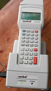 Symbol Pdt 3100 Scanner Inventory Control With Charging Base And Cables