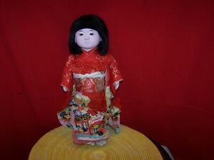 Vintage Japanese Ichimatsu Doll 15 Possibly From Occupied Japan Sweet