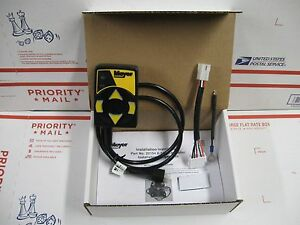 Meyer Touch Pad Plow Controller 22154 22154x New Has 12 pin Adapter Or Use 6 pin