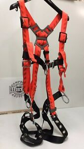 Msa Full Body Harness Xlg Vest Style P 10091456 Rigging Harness D ring Safety
