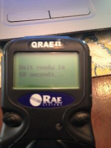 Rae Systems Qrae Ii Four Gas Gas Detector W pump Calibrated And Case Max Xt