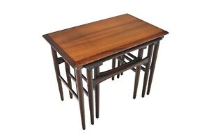 Set Of Danish Modern Mid Century Rosewood Nesting Tables