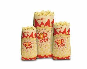 Paragon Popcorn Bags 1 000 count 1 ounce